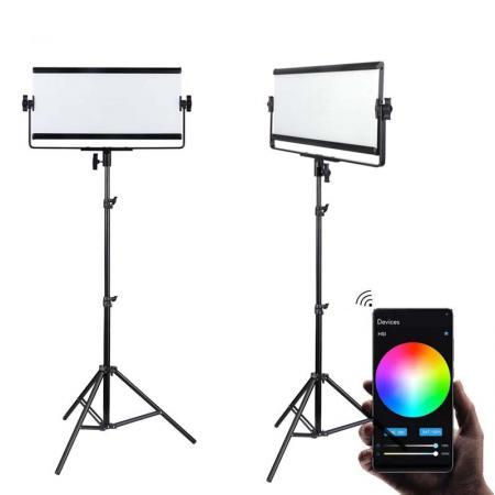 METTLE LED-Studioset SPL 8000 mit RGB Studioleuchte SMART PANEL SPL 420C