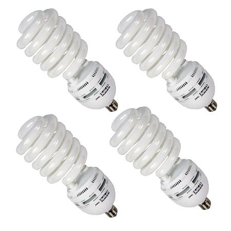 fotolampe mettle 4x leuchtmittel tageslicht lampe 105 watt 5500ak fotolampen ebay
