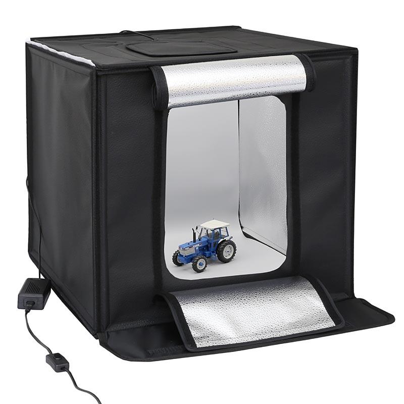life of photo ministudio cube 50 mit intergrierter smd led. Black Bedroom Furniture Sets. Home Design Ideas