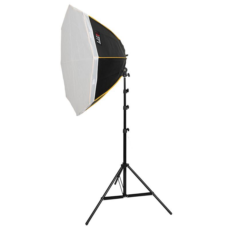 METTLE Daylight Studioset VEGAS 1530 Studioleuchte 18x85 W Tageslicht-Lampen