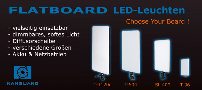 LED-Flächenleuchte FLATBOARD
