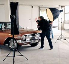 Foto-Shooting Alte Fabrik