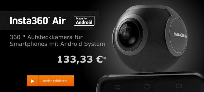 Insta 360 Panorama Kamera für Samrtphone Android Micro USB
