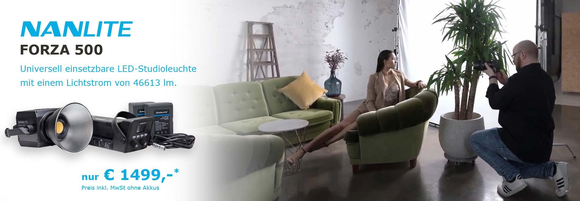 NANLITE FORZA 500 LED-Studioleuchte