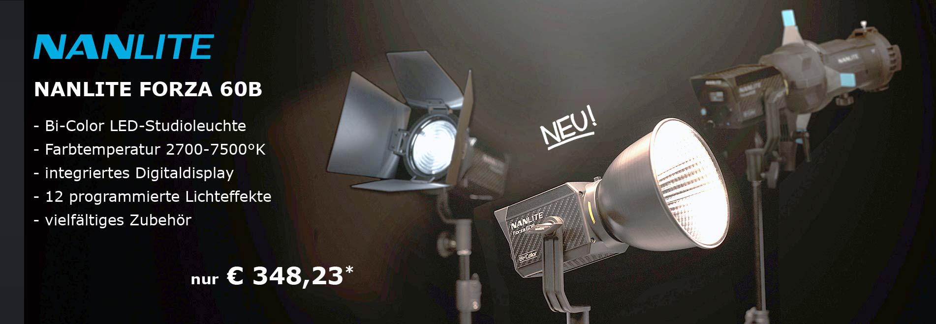 NANLITE FORZA 60B LED Studioleuchte