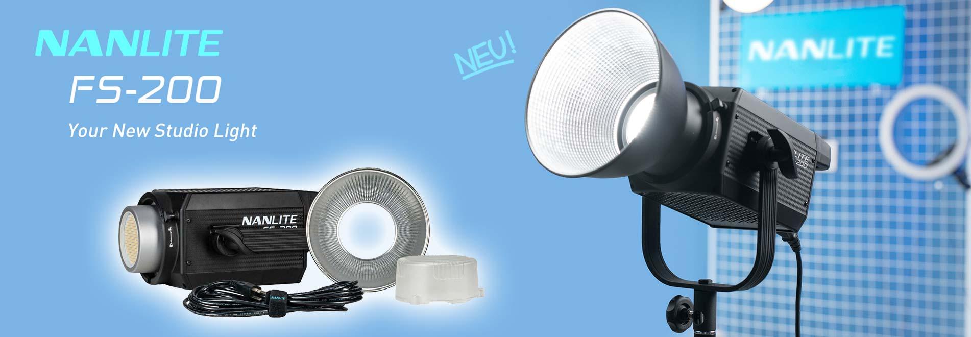 NANLITE FS-200 LED-Studioleuchte Studiolicht