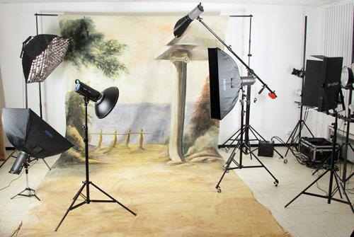 Fotostudio-Ausrüstung in unserem Fotografen-Shop günstig online kaufen!