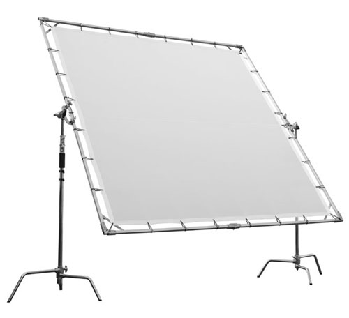 life of photo xxl durchlicht reflektor diffusor segel sun. Black Bedroom Furniture Sets. Home Design Ideas